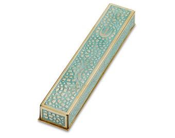 Mezuzah Mosaic, Mezuzah Case, Judaica, Made in Israel, Wedding Gift