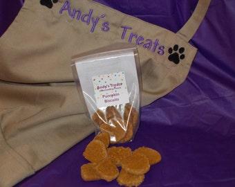 Gourmet Dog Treats - Pumpkin Biscuits