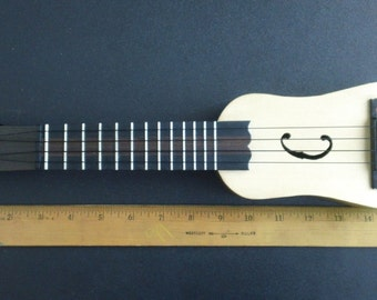 mini handmade custom acoustic Ukulele four-stringed Guitar