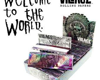 Village Rolling Papers - 1 Pack - Side A