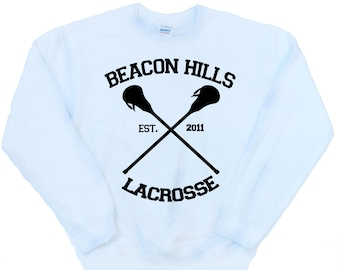 BEACON HILLS LACROSSE - Teen Wolf Inspired Fan Jumper Dylan O'Brien - Various Colours Available Unisex Sweatshirt