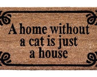 Doormat Cat