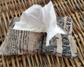 various fabric designs Tissue holders
