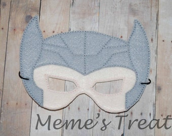 Deluxe Felt Mask -- Kids Mask – Inspired by Thor -- Costume – Dress-Up -- Halloween -- Pretend Play -- Party Favor
