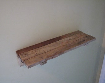 Rustic Shelf, Wood Shelves, Wall Decor, Handcrafted Display,Country Western