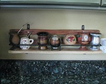 Rustic Shelf, Knick-Knack Shelf, Country Western Shelf,