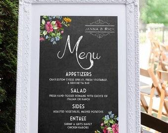 Menu template catering menu menu board wedding menu menu board wedding menu indian wedding menu wedding menu sign wedding menu pronofoot35fo Images
