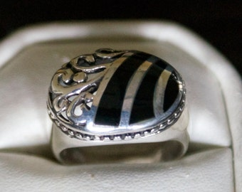 Wear any Where Silver Ring