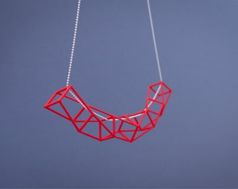 3D Printed Architectural Necklace