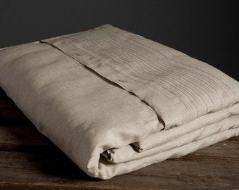 Linen Bed Duvet Cover, Linen Bedding, Linen Duvet, Natural Linen Bed Duvet Cover, Organic Linen Duvet Cover