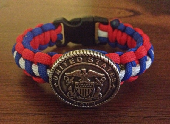 u s navy bracelet us united states navy by laylabugsboutique