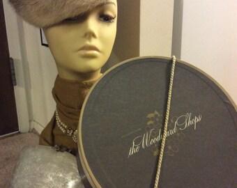 Vintage 1960's Fur Hat