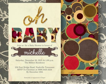 50 Baby Shower Invitation for boy