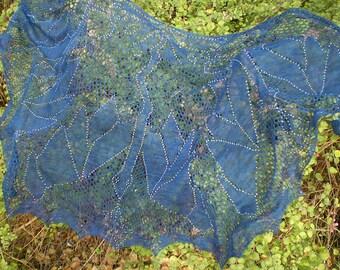 Beaded Lace shawl