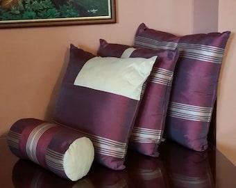 Decorative Handmade Pillows Set