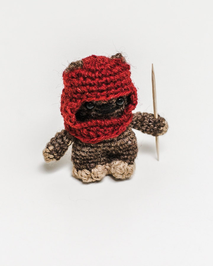 Star Wars Ewok Amigurumi Doll by whimzlove on Etsy