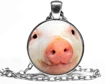 Pig Face - Animal Nature Handmade Pendant Necklace