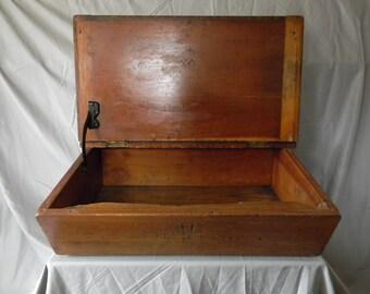 Antique school desk top