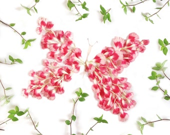 Flower butterly print