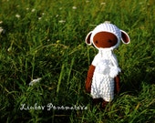 Lamb Lalylala  Crocheted doll  Handmade Amigurumi  Amigurumi Animals