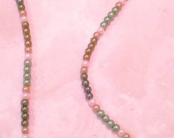 Pearl Necklace with matching bracelet and earrings.