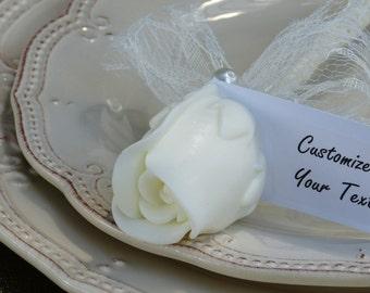 Rustic Wedding favors, Rustic Bridal shower favors, Rustic wedding decor, Rustic Personalized place card, Rustic shower - Lizush creations