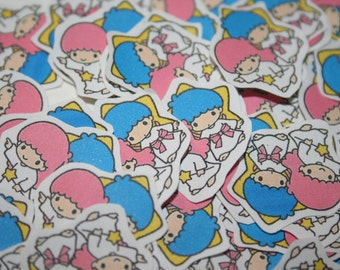 Little Twin Stars Sticker Flakes