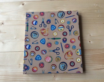 Large Crafty Photo Album | Coptic Stitch | Sketchbook | Journal | Notebook