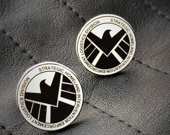 S.H.I.E.L.D. Earrings