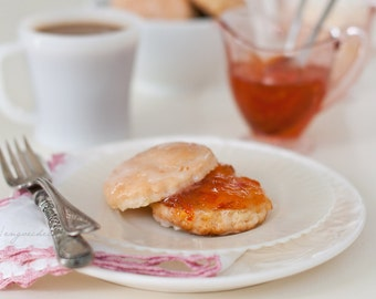 Scones with Jam and Coffe