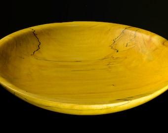Shallow Box Elder Bowl