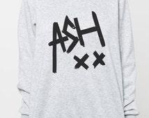 Ashton Irwin shirt sweater women tshirt men sweatshirt ash xx shirt jumper tee long sleeved tshirt black grey tee