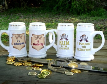 Beer Steins: Dungeons and Dragons, Pirate