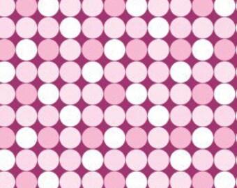 Mod Dots Backdrop - Light Pink Festive