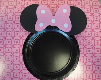 Custom Minnie Mouse Plates