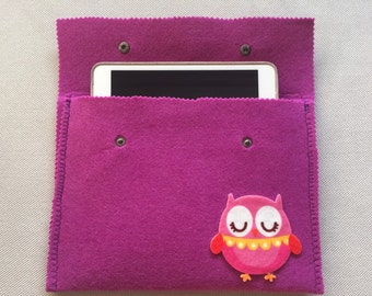 Lovely Purple Ipad Cover