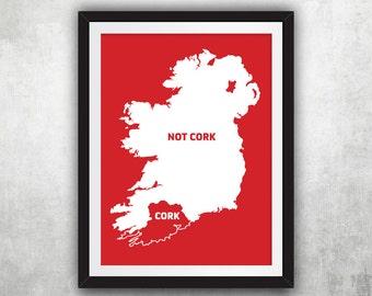 Cork – Not Cork Map