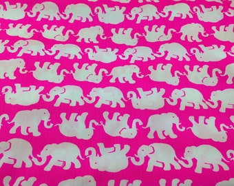 Lilly Pulitzer Fabric Pop Pink Tusk In Sun