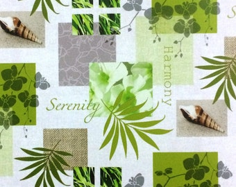 Oilcloth table cloth by the metre harmony C146081