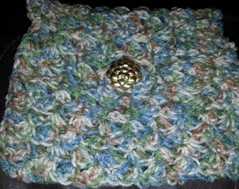Crocheted bible cover