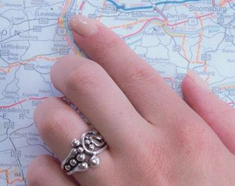 Size 5.5 Coalescence Bubble Ring