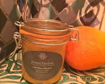 Orange marmalade with eldelflower and orange blossom