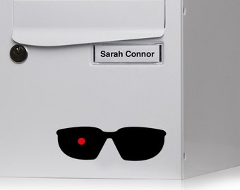 Sticker Terminator glasses