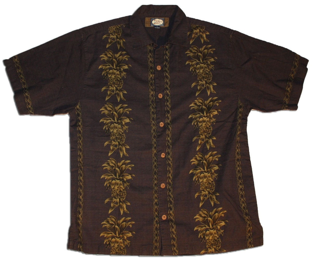 Vintage Men 39 S Shirt Hawaiian Black Tommy Bahama Small
