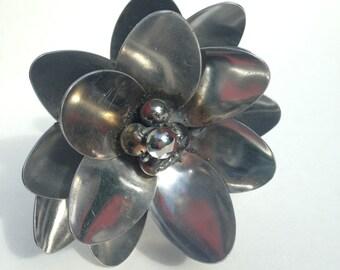 Short Metal Garden Flower