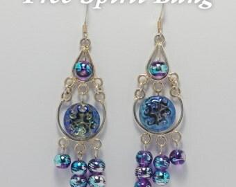 Majestic Waterfall Earrings