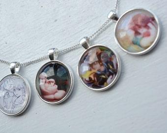 CUSTOM NECKLACE - Photo Jewellery Jewelry -