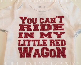 Little Red Wagon ONESIE