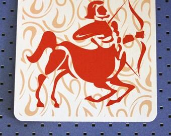 Sagittarius Zodiac Bumper Sticker
