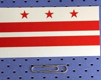 Washington District Of Columbia Flag Sticker
